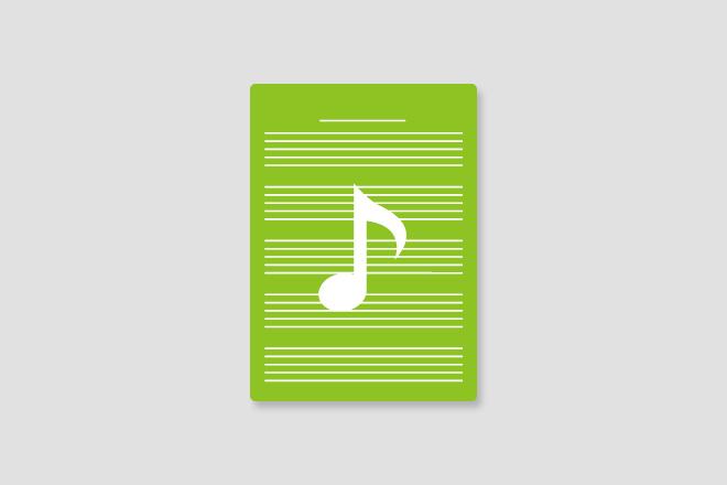 スペシャルプラン④【レコーディング曲サイン入り楽譜】