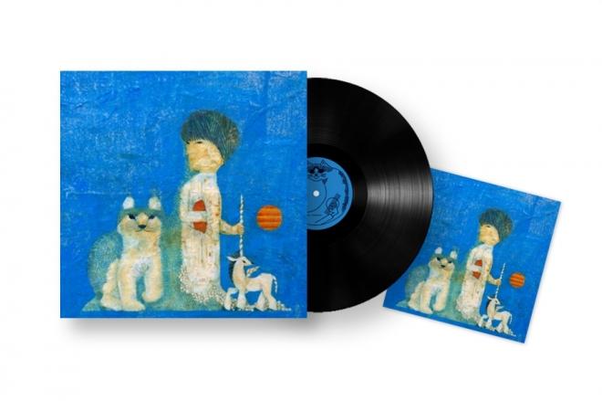 LP『新しい青の時代』+オリジナルアートカード