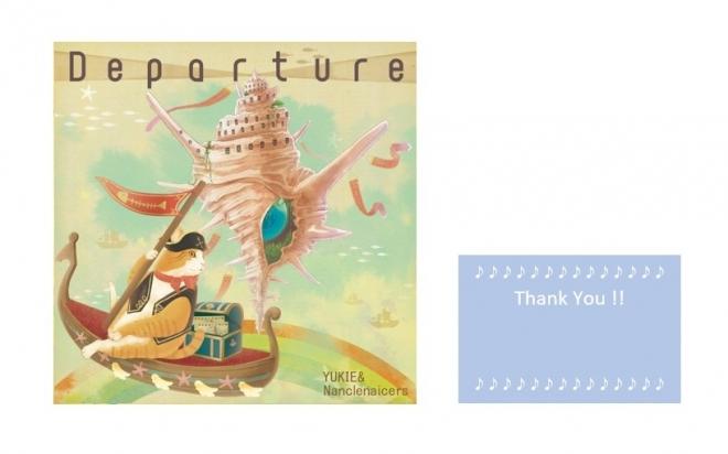 CD:3rd mini album『Departure』+直筆メッセージカード
