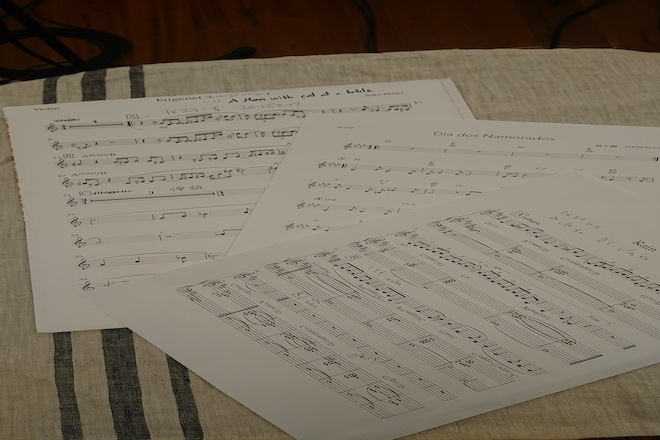 One of a Kind Signed Original Music Score