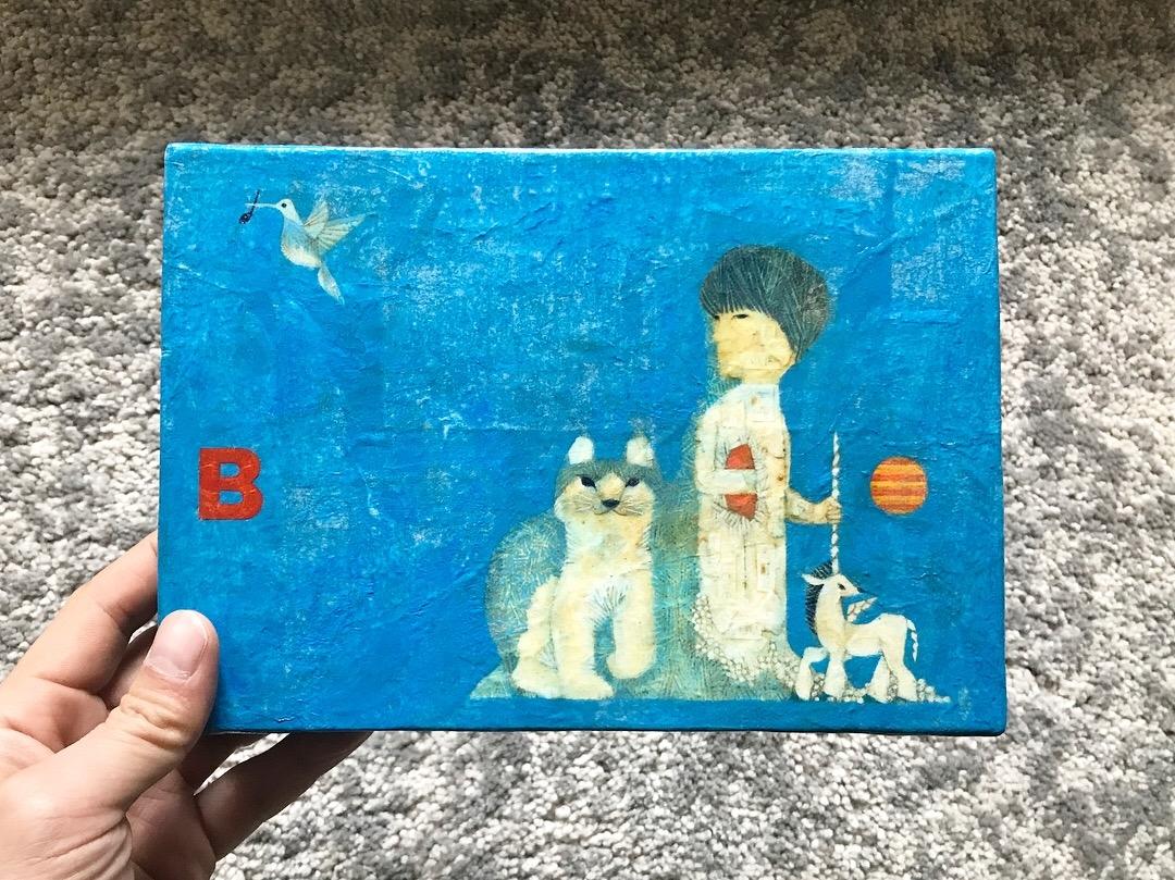福田利之さんの個展が4月7日から