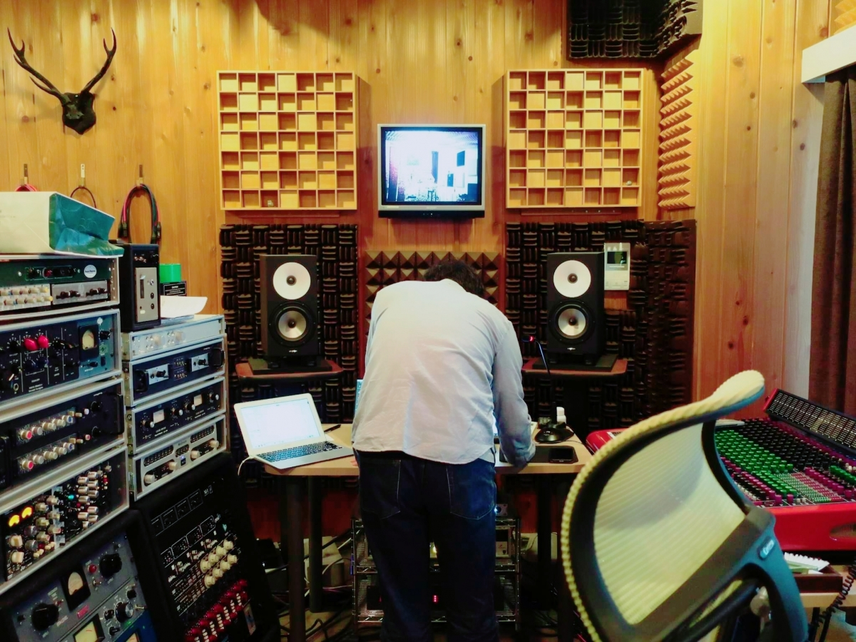お試しレコーディング&スタジオ見学